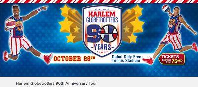 Οι Harlem Globetrotters γιορτάζουν τα 90 χρόνια τους στο Ντουμπάι
