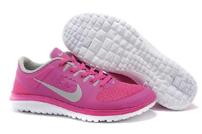 Discount Nike Free Run Max Vrouwen Schoenen Rozerood Perzik Rood GRATIS VERZENDING DOOR DHL Verkoopprijs:€63,26