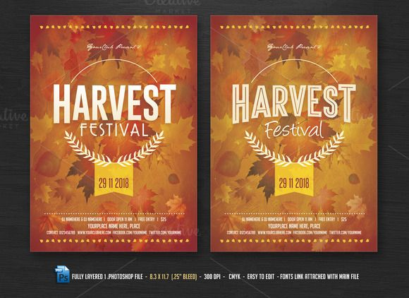 festival flyer templates
