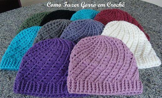 Como Fazer Gorro em Crochê | Maraca Crochet
