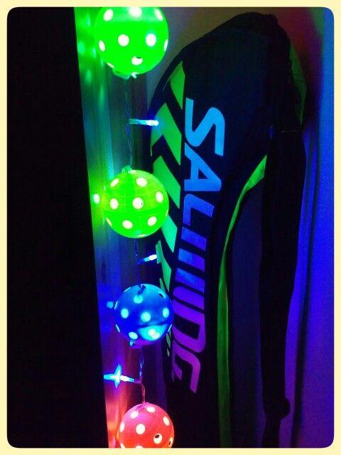 Lámpara bolas floorball Led