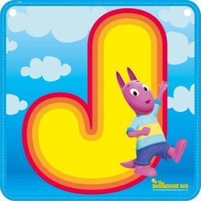 Alfabeto de los Backyardigans.   Oh my Alfabetos!