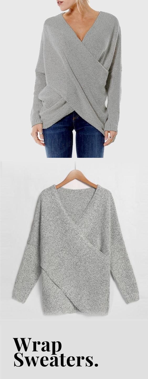 Cela - Pullover Wrap Sweater 3