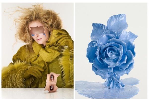 Porcelaine Dolls / Personal work by Dimitri Daniloff, via Behance
