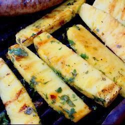 Barbecued Tequila and Coriander Pineapple @ allrecipes.co.uk