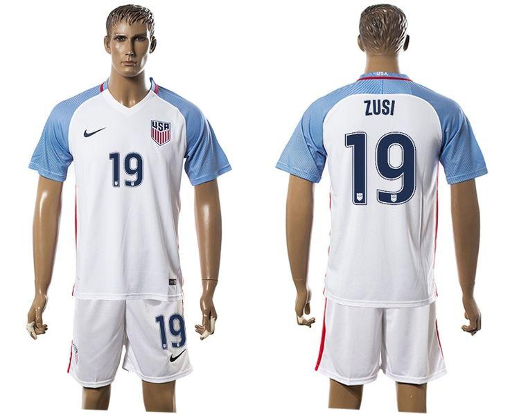 2016 Copa America USA #19 ZUSI Home White Soccer Jersey from http://www.amynfljerseys.ru/2016-copa-america-usa-19-zusi-home-white-soccer-jersey-p-83527.html