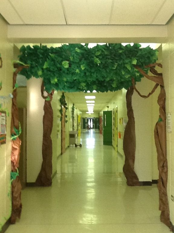 Classroom Decoration Forest ~ Best ideas about classroom tree on pinterest reading