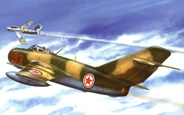 korean war wallpaper wallpaper mig 15 art war aviation painting f 86 sabre korean war planes of war pinterest korean war aviation and