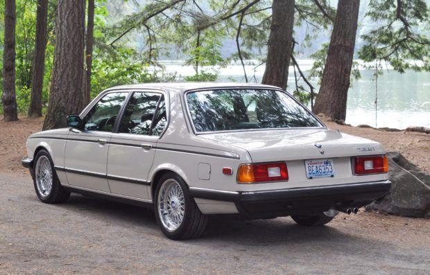 Euro 1985 BMW 728i 5-Speed