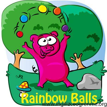 Türkçe çevirili İngilizce hikayeler serimizin ilk kitabı.  Rainbow Balls.
