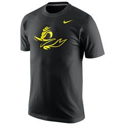 Men's Nike Black Oregon Ducks Game Day Hook T-Shirt