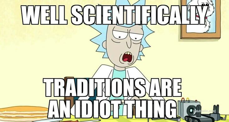 Well scientifically...
