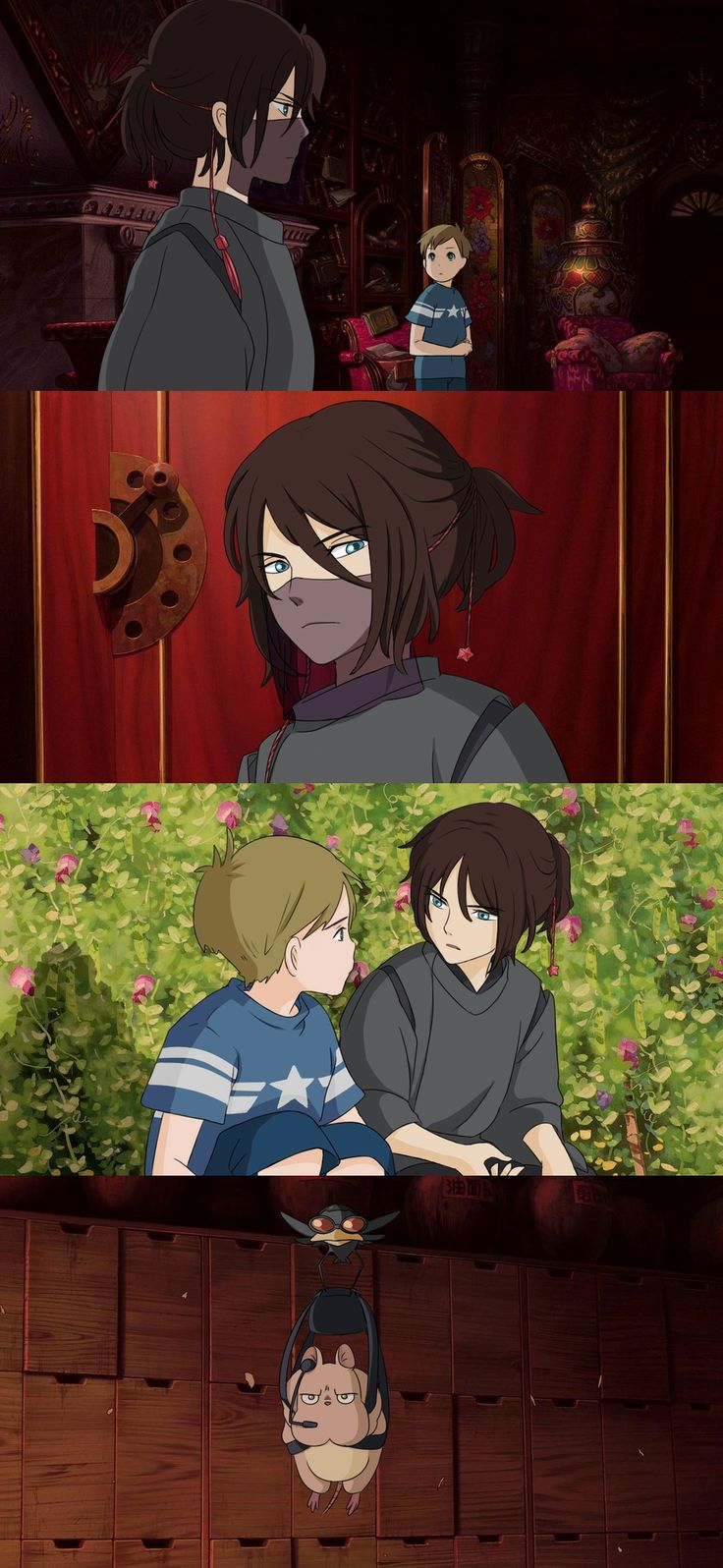 http://talkdrarrytome.tumblr.com/post/142990705646 Stucky and spirited away ahhhhhh