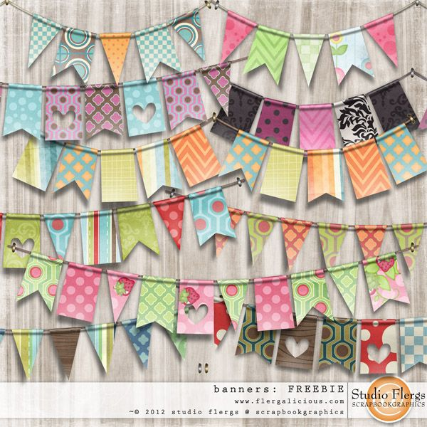 Quality DigiScrap Freebies: Banners freebie from Studio Flergs