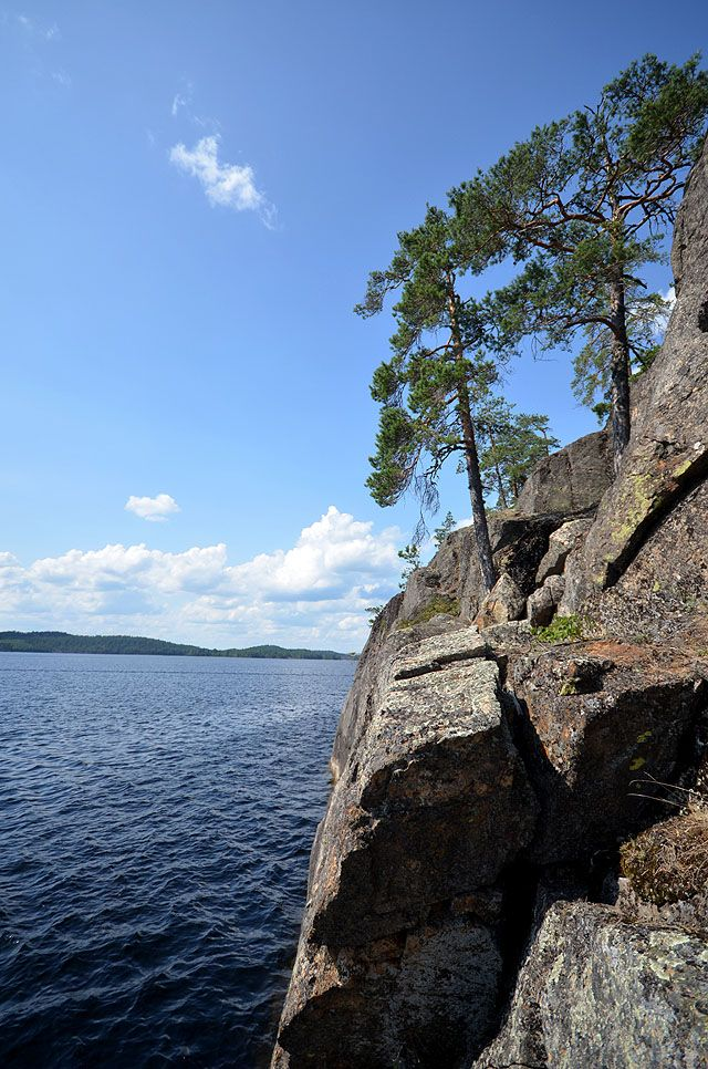 Felsenlandschaft im Saimaa-Seengebiet, Finnland