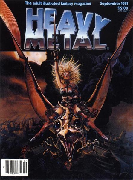 Heavy Metal Magazine - September 1981