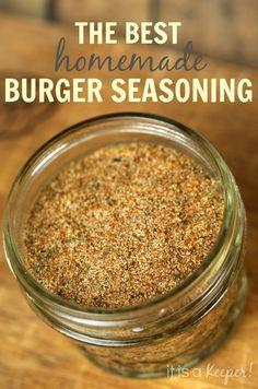 Hamburguesa Condimento Blend - Es un Guardián   http://www.itisakeeper.com/11737/burger-seasoning-blend-2/