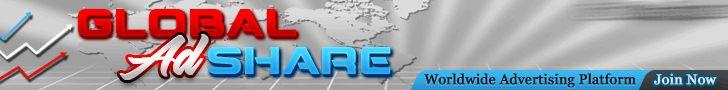 Aktuell können bei GlobalAdShares die neuen MEGA-ADPACKS für 10$ das Stück alle 48 Stunden gekauft werden! Es verhält sich mit den täglichen Gewinnausschüttungen genauso wie bei den anderen Adpacks, nachdem es 150% erreicht hat läuft es aus. Obendrauf erhält man pro Mega-Adpak 4000 Credits um Werbebanner zu schalten. ===> http://geldverdienen-mit-globaladshare.gr8.com/