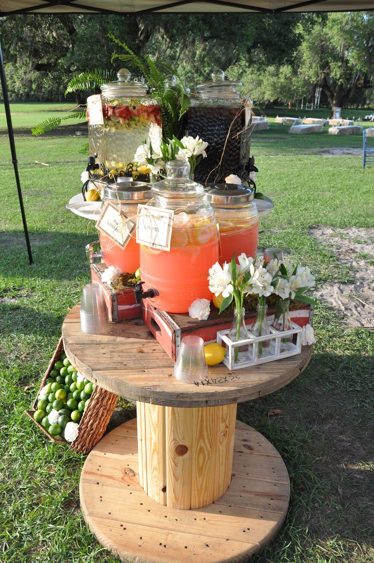 Table With Drink Trough Best 25 Drink Station Wedding Ideas Only On Pinterest Drink