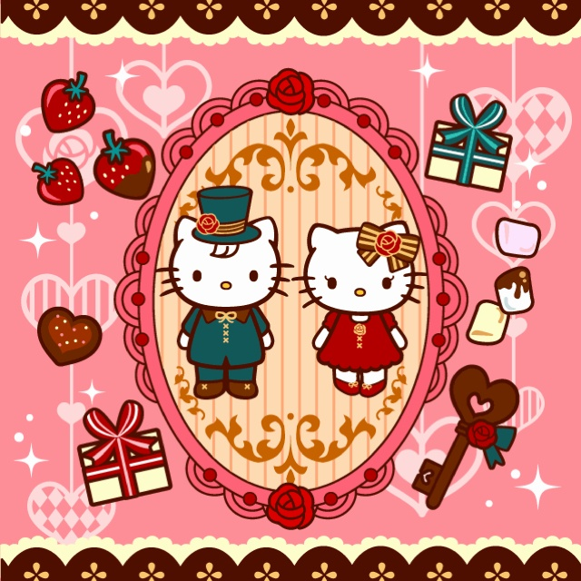 Hello Kitty Dear Daniel Coloring Pages : Best images about dear daniel and hello kitty on