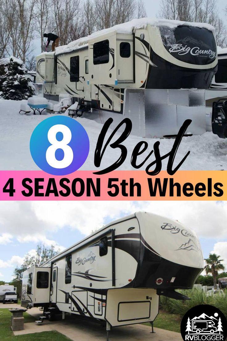 8 Best 4 Season 5th Wheels - RVBlogger in 2020 | Rv ...