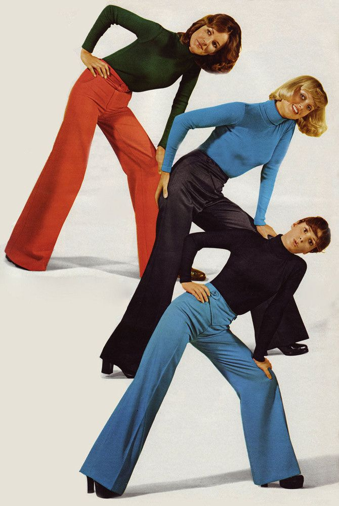 1974, Fashion: Bell-bottoms