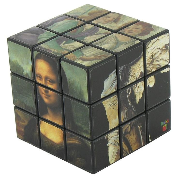 Musée du Louvre - Rubik's cube