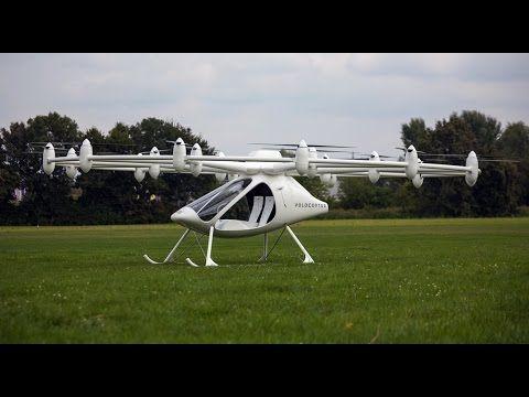 «Volocopter» летающий автомобиль впервые поднялся в воздух в Германии