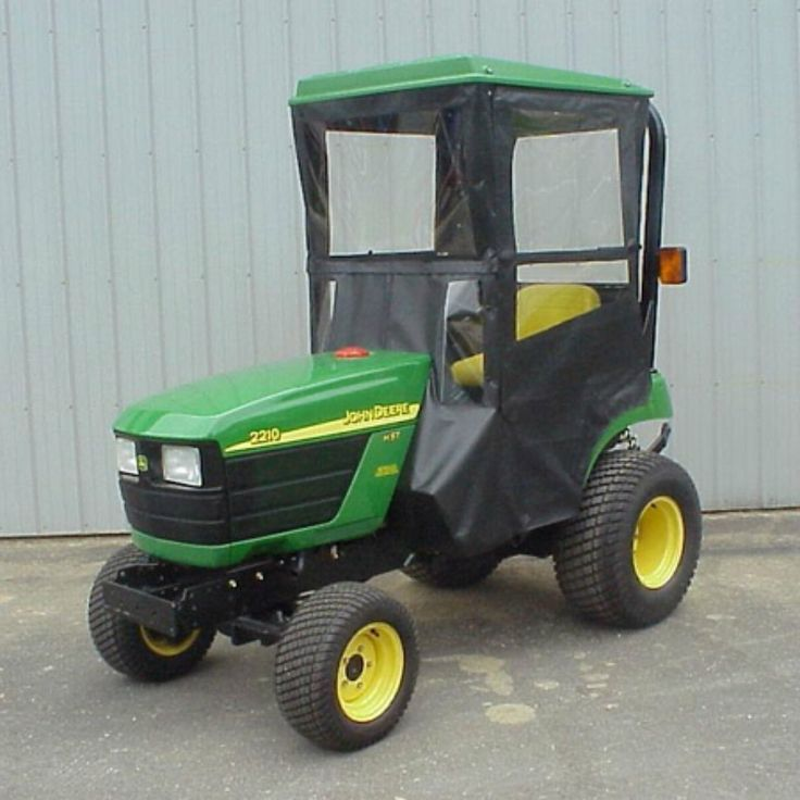 Hard Top Cab Enclosure for John Deere 2210 & 2305
