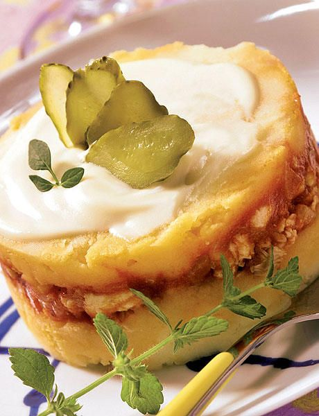 Pastel de atún y patatas,  receta