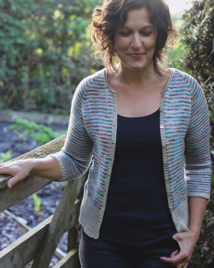 It's been so much fun watching you plan your colours and yarns for your Timely cardigans - I'm so looking forward to seeing them grow! . Did you know we're having a #timelycardigan KAL? Come and join the fun! We're beginning on 1 July but if you head over to the Ravelry group now you can show off your stripes and start swatching! There's a link to the Truly Myrtle Rav group in my bio
