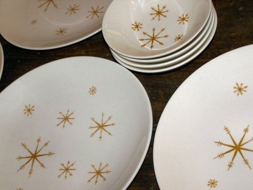 Vintage Star Glow dinnerware from Royal China & 119 best Fabulous vintage dishes images on Pinterest | Vintage ...