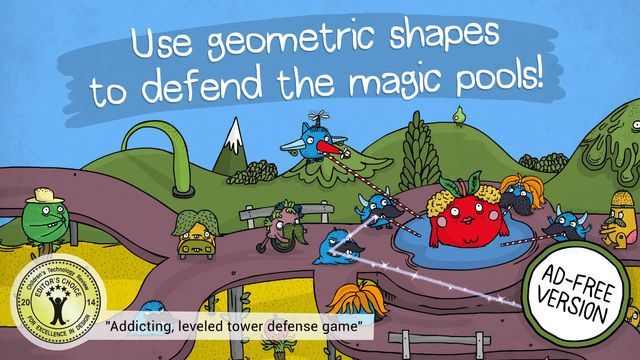 The Land of Venn - Geometric Defense by iMagine Machine Israel LTD