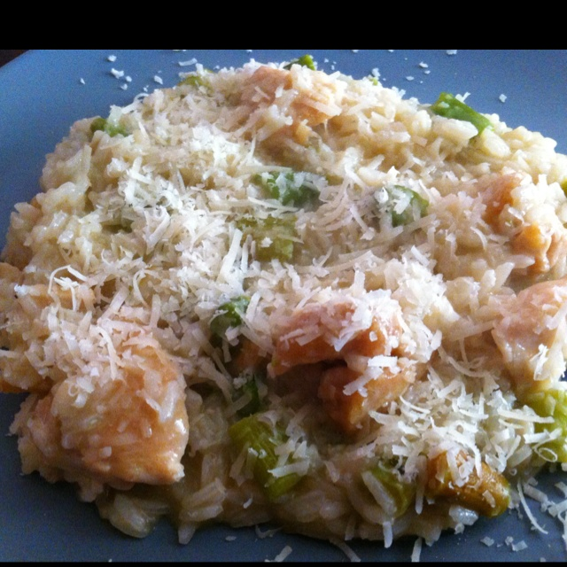 Risotto with chicken and asparagus | Recipes | Pinterest
