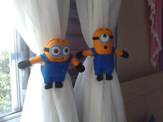 Prendedor de cortina Minions!!