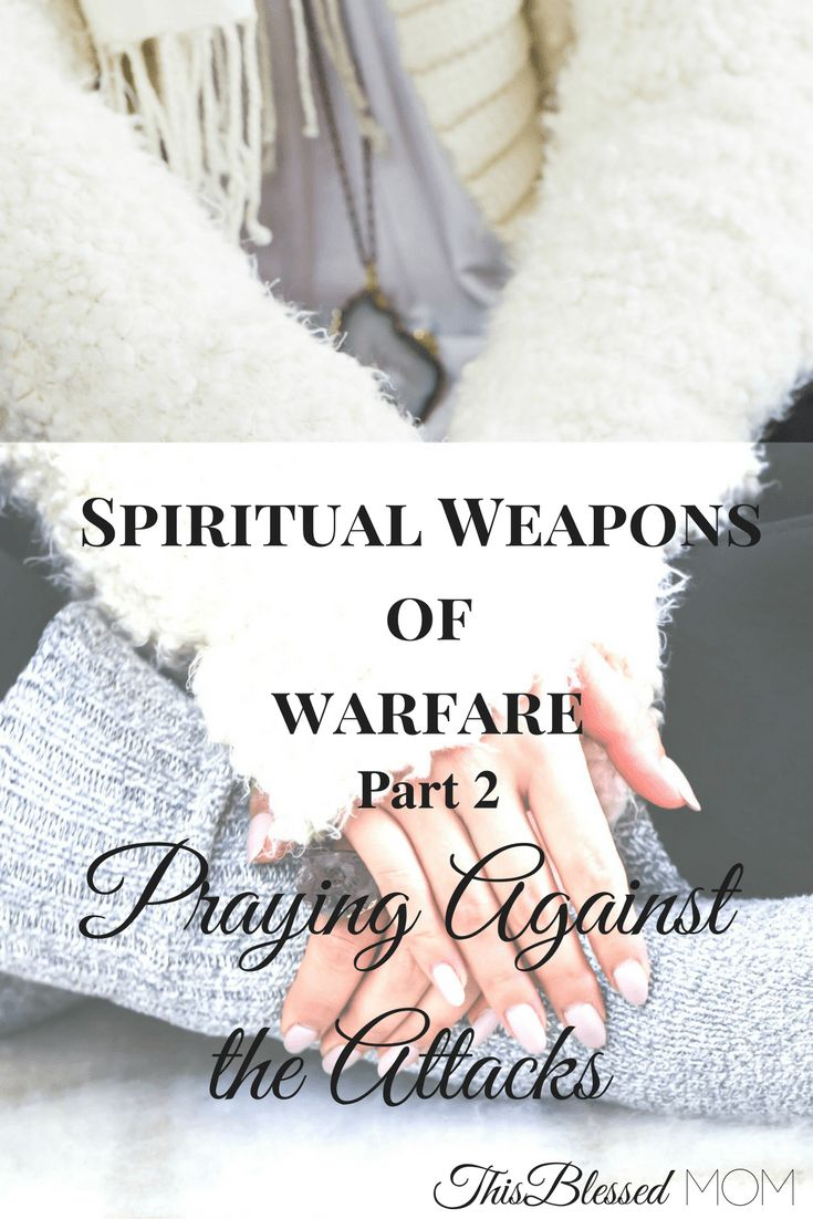When being faced with the spiritual attacks of the enemy, we must pray to our Lord to help us overcome. Learn about the mighty spiritual weapon of prayer.