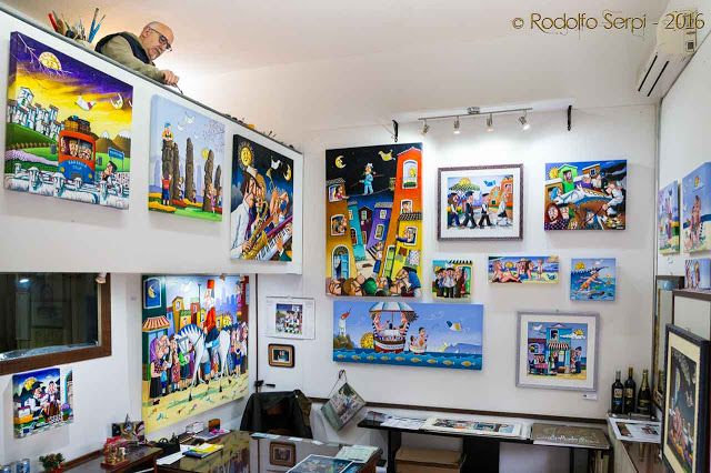 The Creative Art - Cagliari: Le Interviste: Paolo Laconi - Pittore