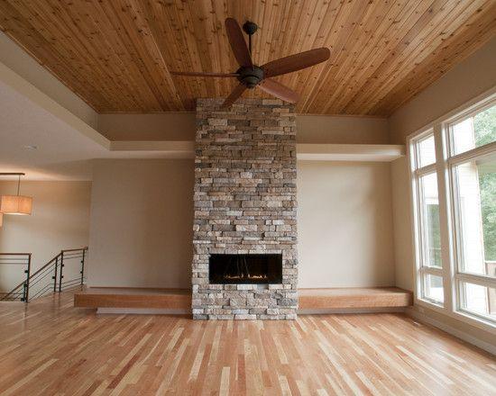 Modern Stone Fireplace Designs: 75 Best Rustic Livingroom Images On Pinterest