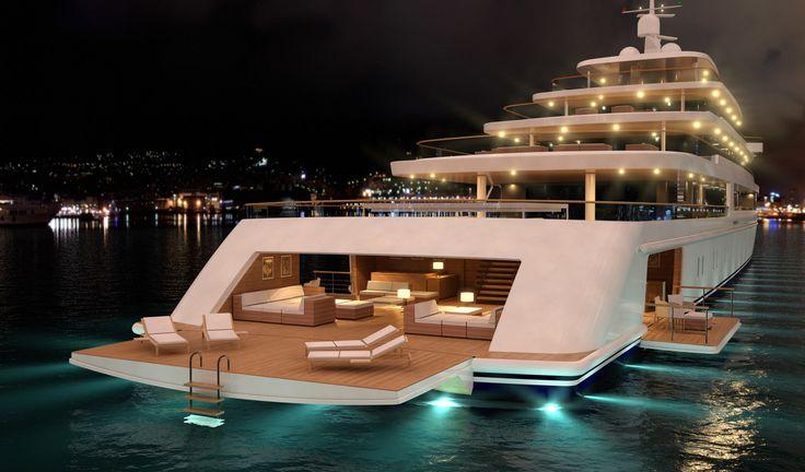 Beautiful Luxury Yachts Nauta Luxury Yacht Project Light By