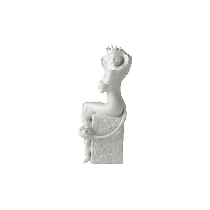 Znaki zodiaku - Lew - wersja kobieca, biała - Manufaktura Stylu