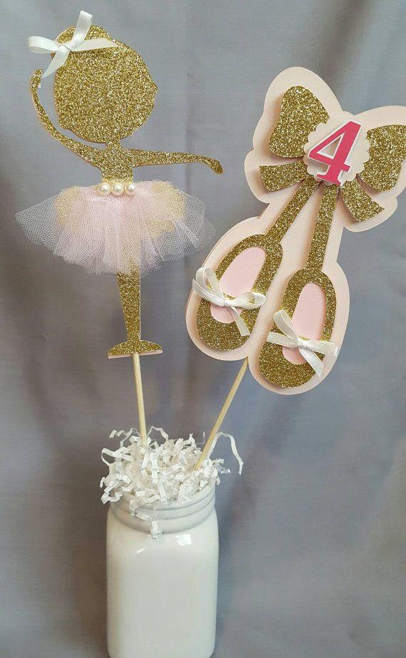 Ballerina Tutu Birthday Centerpiece-Ballerina by JCCustomDecor