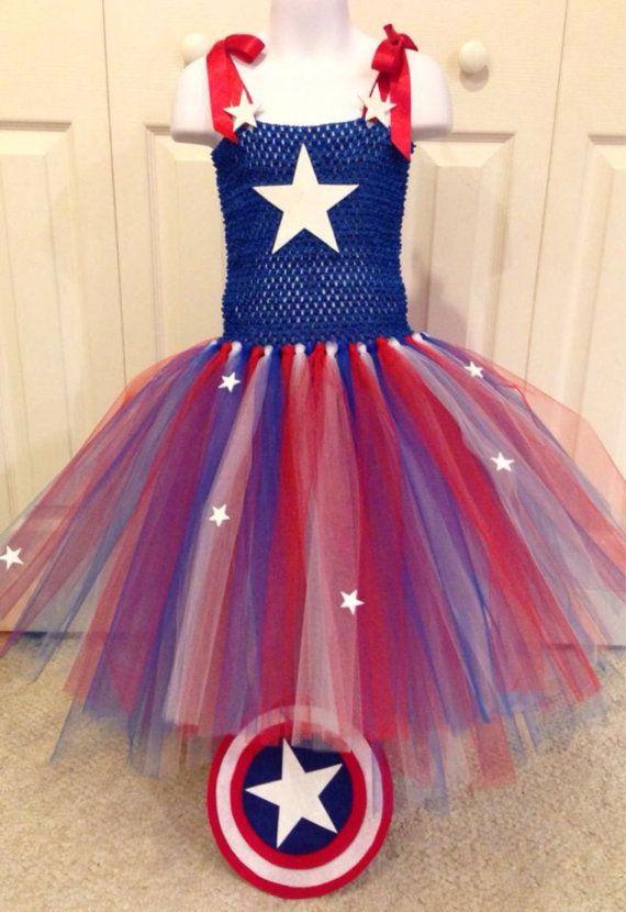 Tutu de Capitán América
