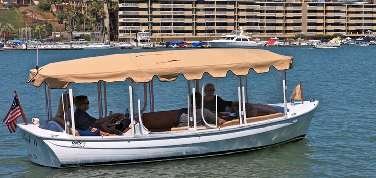 Take A Ride In Duffy Boat The Newport Beach Bay Of California Is Where I Live Pinterest
