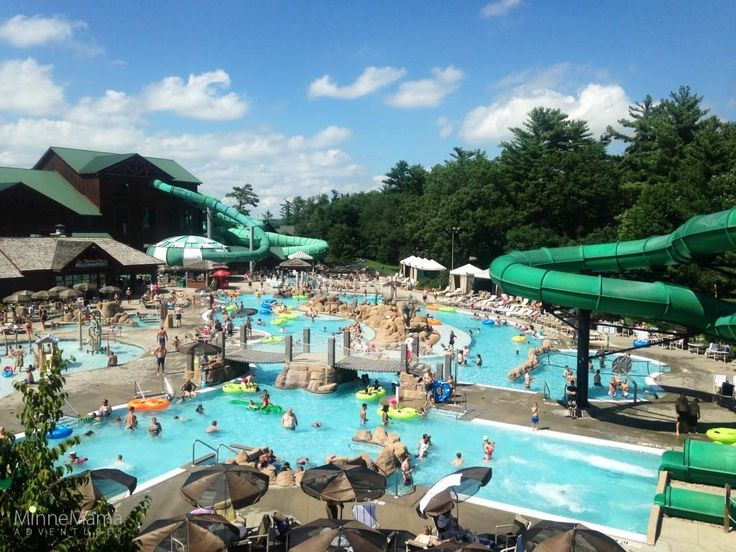 Wisconsin Dells: Enjoying the Wilderness Resort