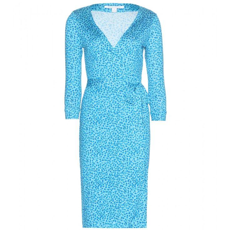 Diane von Furstenberg - New Julian Two printed silk wrap dress - mytheresa.com