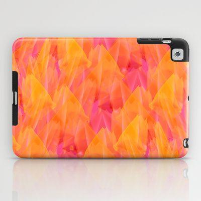 Tulip Fields #105 iPad Case by Gréta Thórsdóttir - $60.00