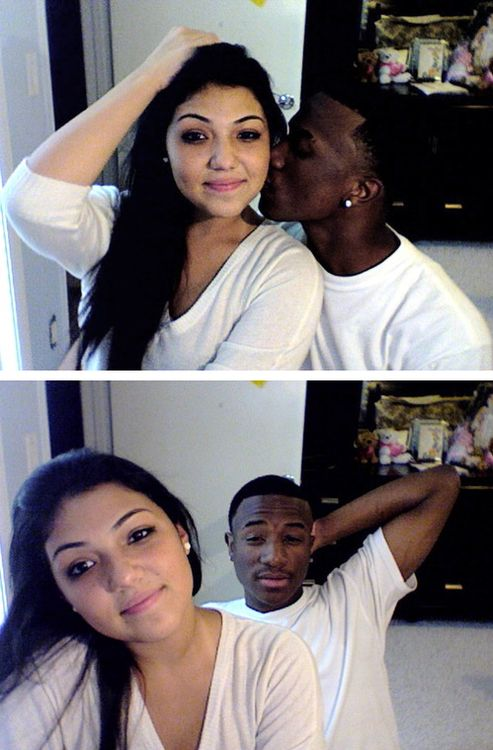 Black guy and mexican girl dating