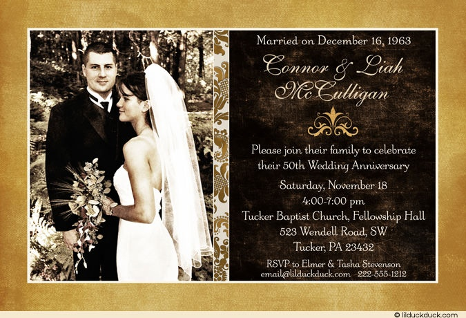50th Wedding Anniversary Invitation Ideas: 1000+ Ideas About 50th Anniversary Invitations On