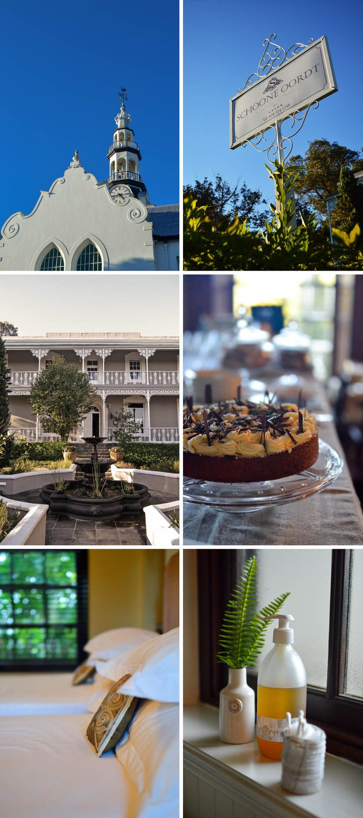 """The magnificent Schoone Oordt Country House in Swellendham, South Africa. A definite """"must stay"""" when travelling through this part of the cape 