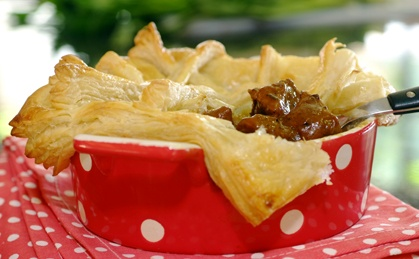 Pepper Steak Pie recipe | Meat recipes | Whats For Dinner ...